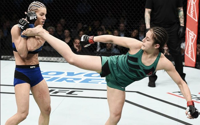El invicto de Alexa Grasso cayó en el UFC Houston