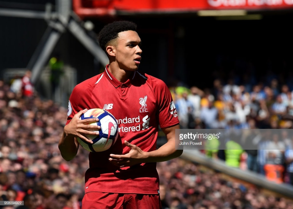 Trent Alexander-Arnold is ready to join up with his Liverpool teammates in France