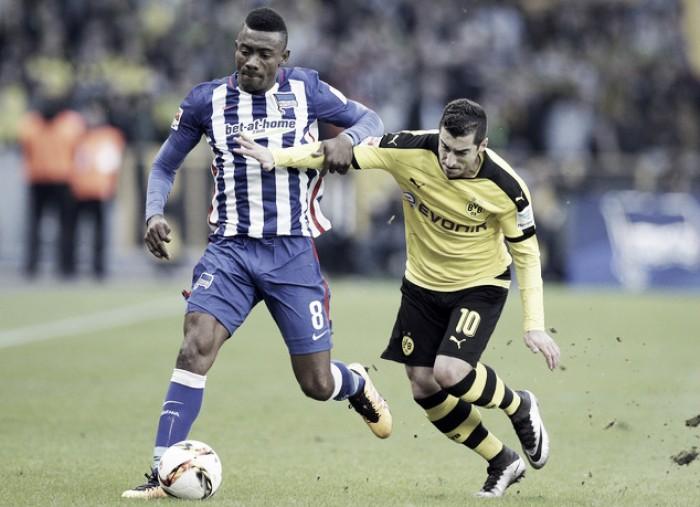 Brigando na ponta da tabela, Borussia Dortmund recebe Hertha Berlin pela Bundesliga