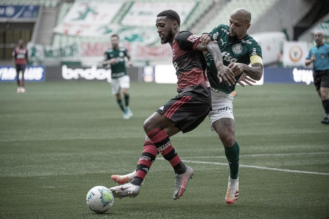 Apático, Palmeiras decepciona e fica no empate contra time desmantelado do Flamengo