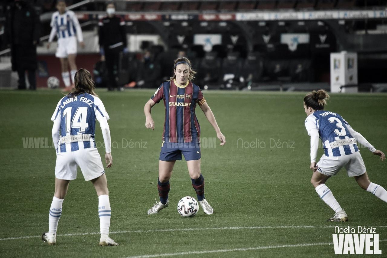 """Alexia Putellas: """"He tenido muy buenas capitanas y ahora me toca a mí"""""""
