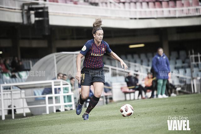 """Alexia Putellas: """"Quiero ganar la Liga"""""""