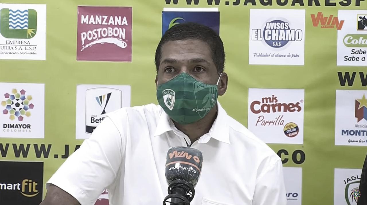 """Alexis García: """"Felicito a Jaguares, hizo un muy buen partido"""""""