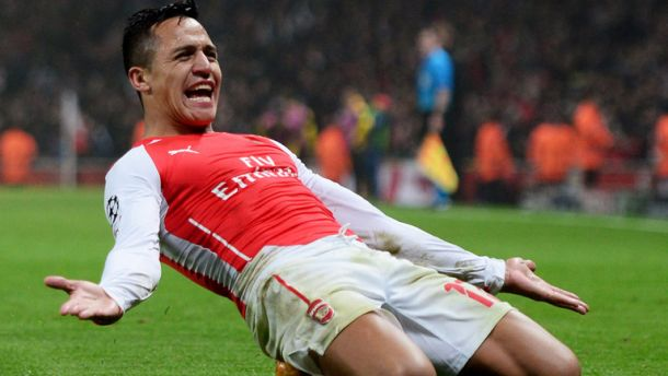 Sanchez Is A Match For Suarez and Aguero Claims Ramsey