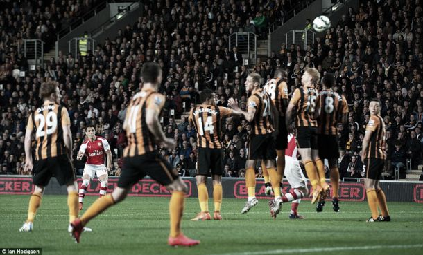 Hull City 1-3 Arsenal: Arsenal masterclass sees the Gunners claim the three points