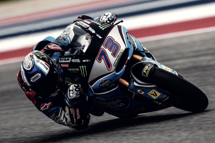 Álex Márquez busca liderar en Jerez