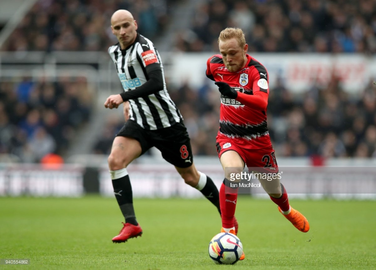 Alex Pritchard bemoans Huddersfield inability to convert chances in Newcastle defeat