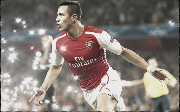 Sanchez considerado o jogador do mês