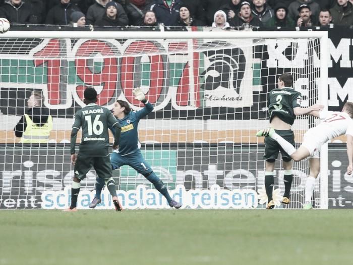 FC Augsburg 2-2 Borussia Mönchengladbach: Stunning spell sees spoils shared