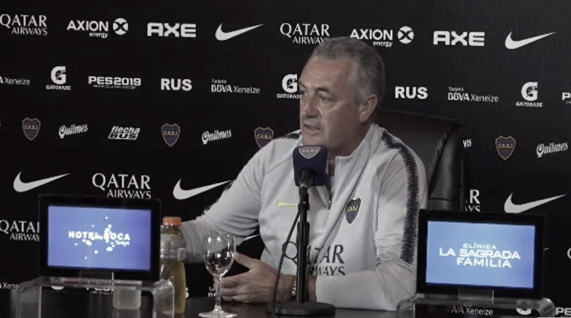 """Gustavo Alfaro: """"Al partido lo ganamos bien"""""""