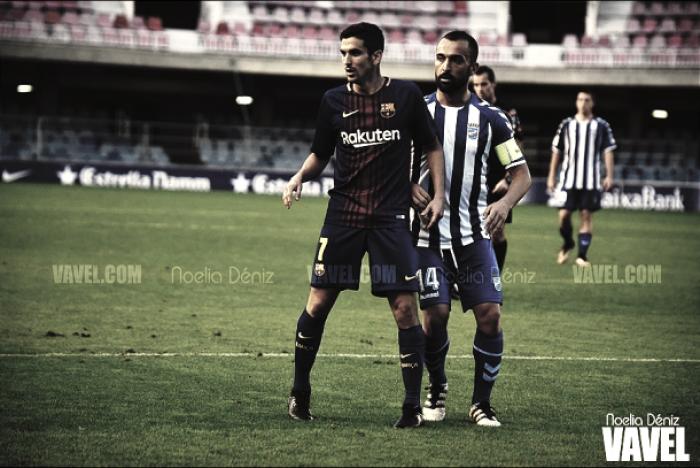 Alfaro rescinde con el Barça B y pone rumbo a Zaragoza