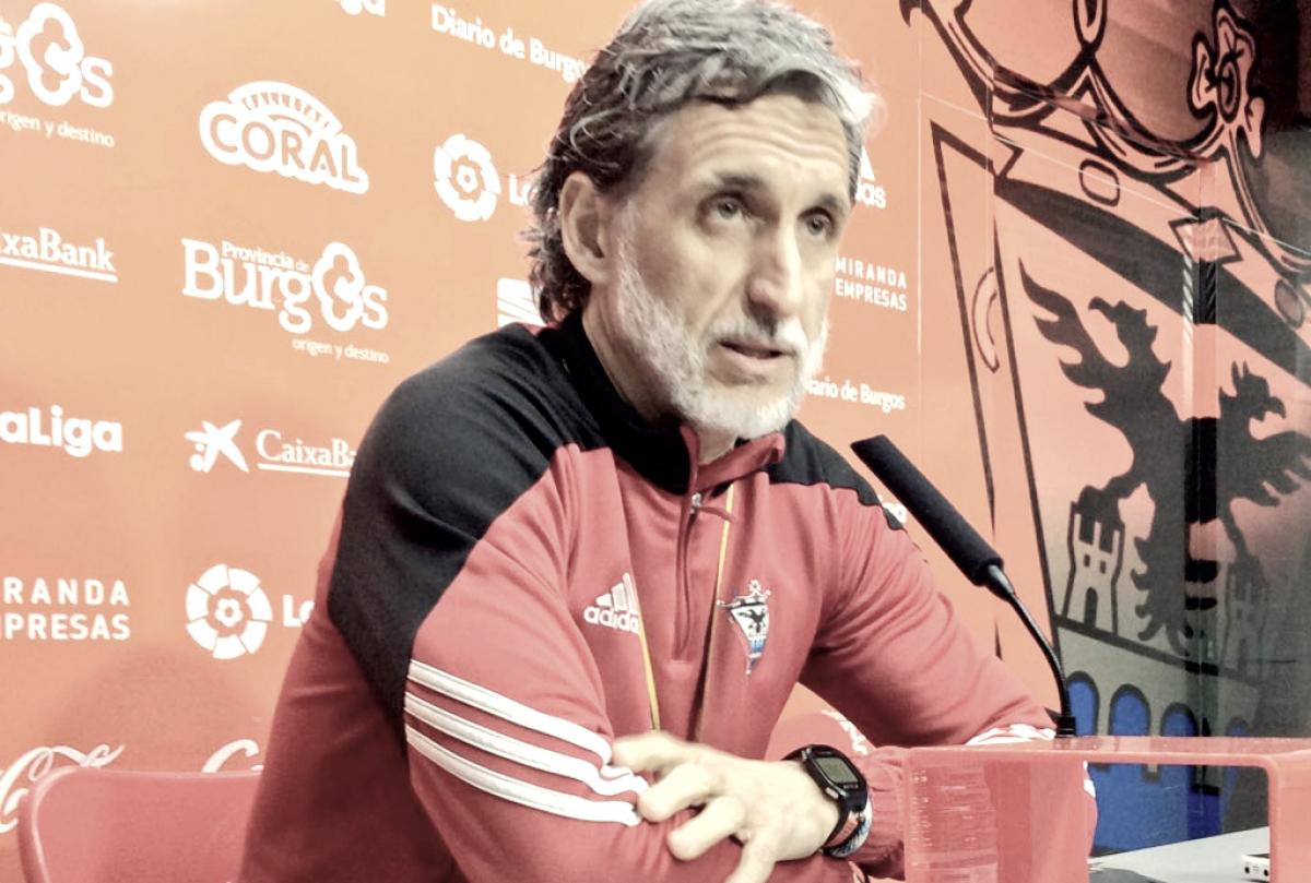 """Pablo Alfaro: """"La clave está en levantarse rápido"""""""