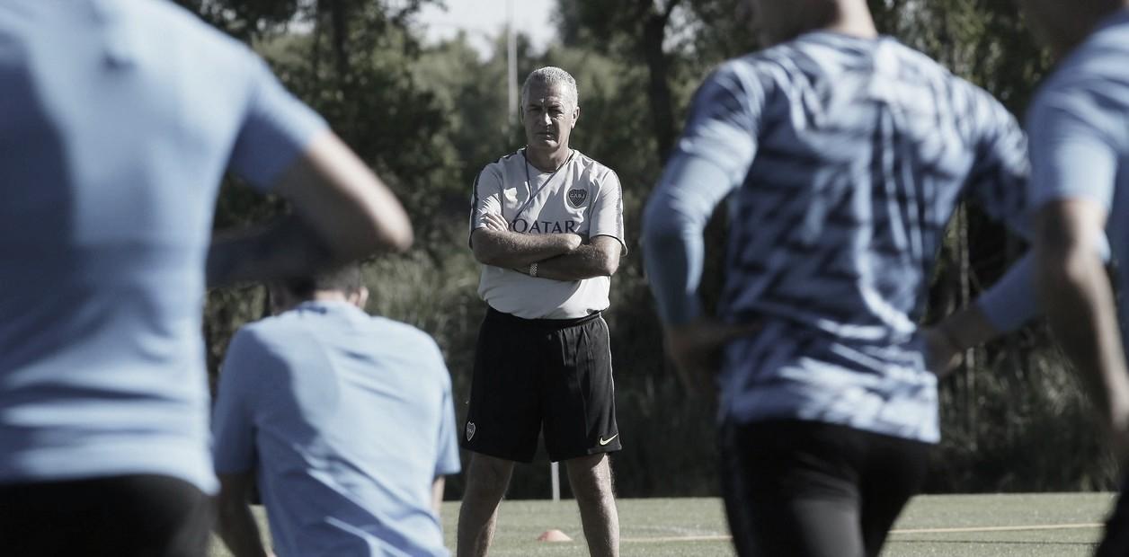 Alfaro se prepara para enfrentar a Vélez
