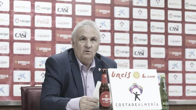 Alfonso García cumplió su palabra