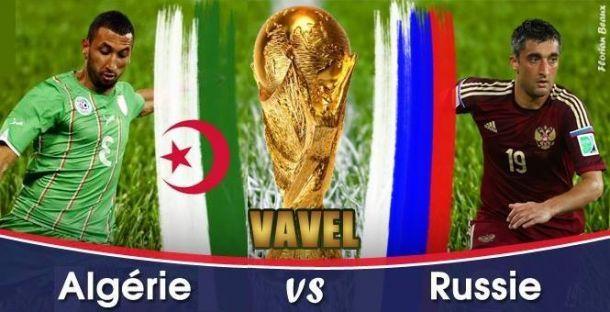 Live Algérie - Russie, la Coupe du Monde 2014 en direct