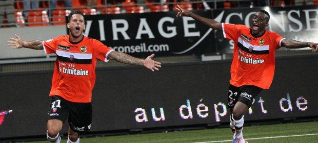 Mala imagen del Saint-Etienne en su derrota frente al Lorient