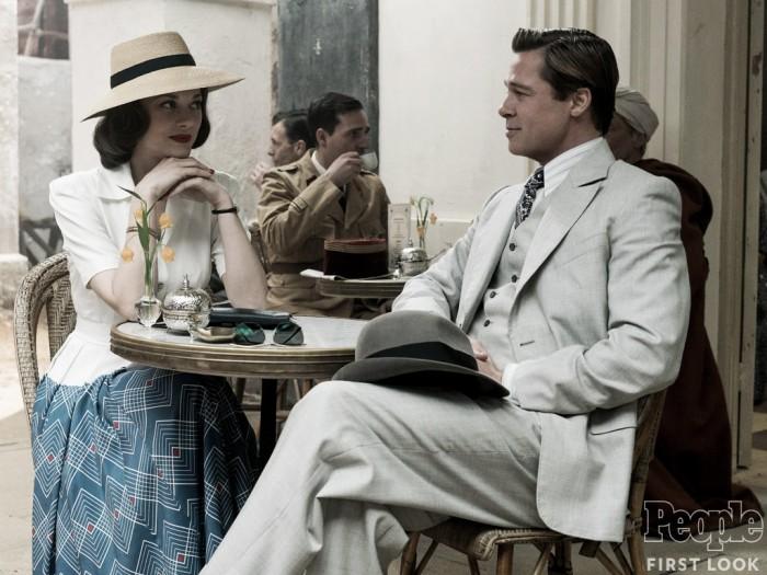 Brad Pitt e Marion Cotilard são espiões no tenso trailer de Aliados