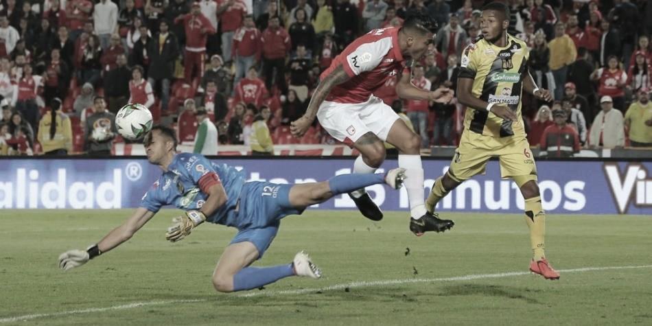 Independiente Santa Fe sigue sin rugir