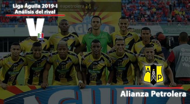 Once Caldas, Análisis del rival: Alianza Petrolera