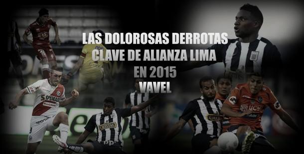 Las 5 derrotas clave de Alianza Lima en 2015
