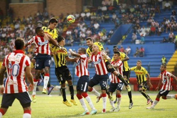 Resultado Junior - Alianza Petrolera en Liga Águila 2015 (2-1)