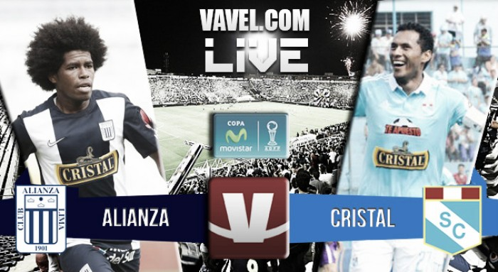 Resultado Alianza Lima - Sporting Cristal en Torneo Apertura 2016 (2-4)