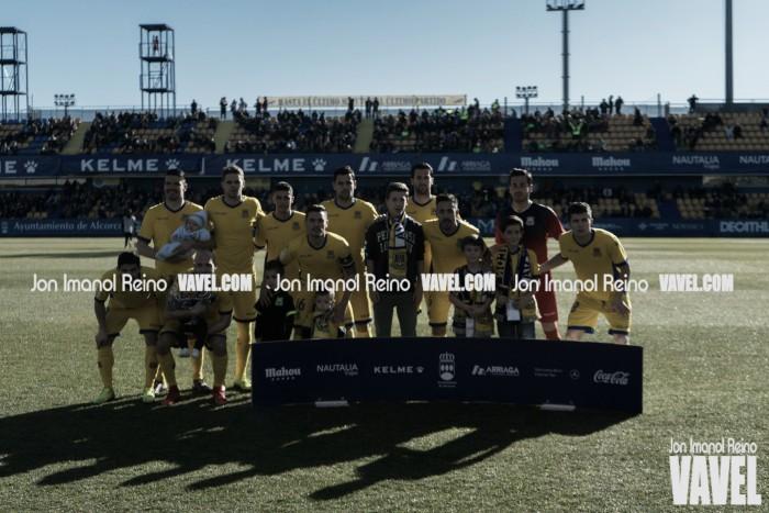 AD Alcorcón - Cádiz CF: puntuaciones AD Alcorcón, jornada 23 de la Liga 123