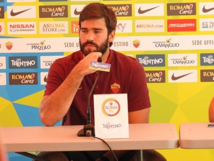 """Roma, Alisson: """"Non ho ancora dato il 100%, devo migliorare ancora tanto"""""""