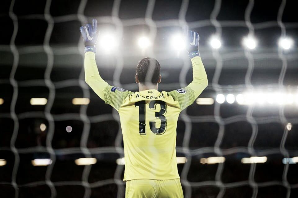 """Alisson revela o motivo por ter trocado a Roma pelo Liverpool: """"Ganhar o troféu da Champions"""""""