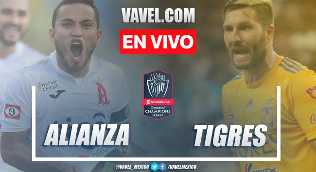 Resumen y goles: Alianza 2-1 Tigres en Liga de Campeones CONCACAF