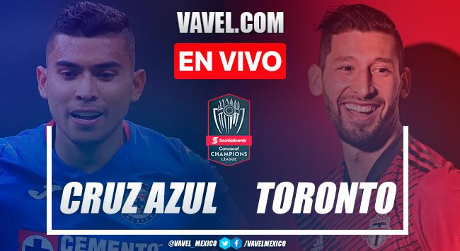 Gol y resumen: Cruz Azul 1-0 Toronto FC en vuelta de cuartos de final de la Concachampions 2021