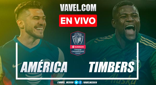 Goles y resumen: América 3-1 Portland Timbers en la Vuelta de los Cuartos de Final de la Concachampions 2021