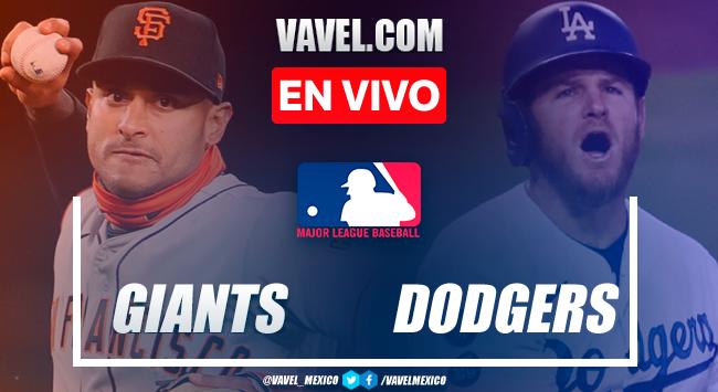 Resumen y carreras: San Francisco Giants 8-5 Los Ángeles Dodgers en MLB 2021