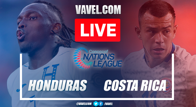 Highlights, goals and penalties:Honduras 2 (5-4) 2 Costa Rica in 2021 CONCACAF Nations League