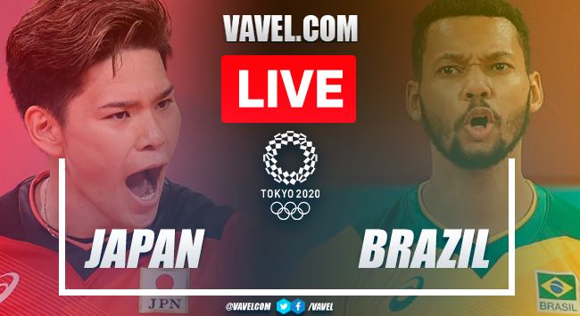 Highlights: Japan 0-3 Brazil in Men's Volleyball Olympic Games 2020