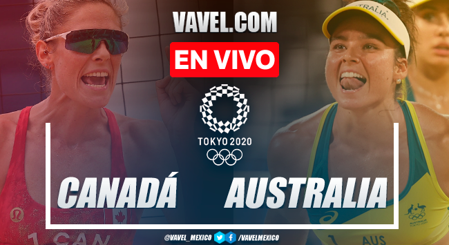 Resumen: Canadá 1-2 Australia en Cuartos de Final de Voleibol de Playa Femenil por Juegos Olímpicos 2020