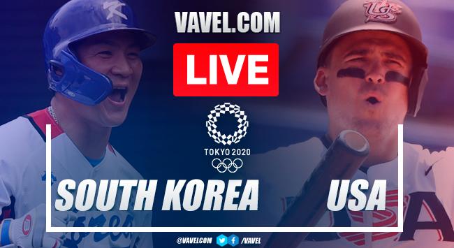 Highlights and runs: USA 7-2 South Korea in Semifinals Baseball Olympic Games 2020