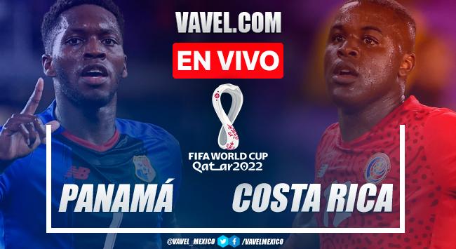 Resumen: Panamá 0-0 Costa Rica en Eliminatorias Catar 2022