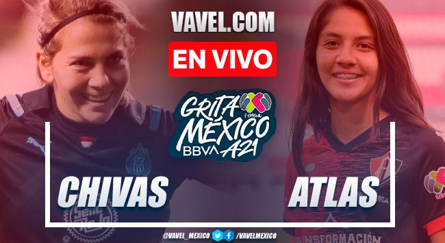 Resumen y gol: Chivas 1-0 Atlas en Liga MX Femenil Apertura 2021