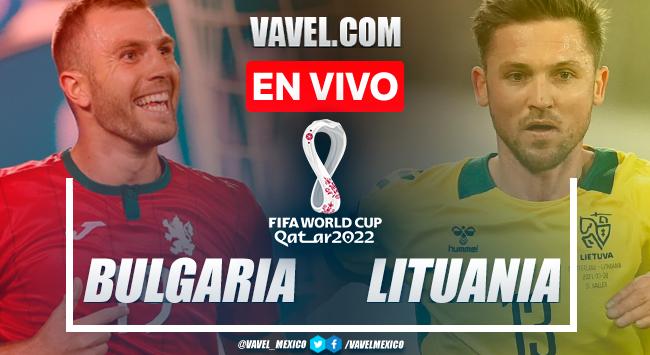 Resumen y gol: Bulgaria 1-0 Lituania por Eliminatorias UEFA para Catar 2022
