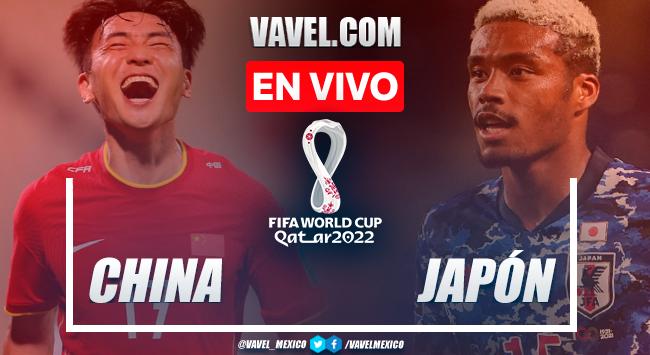 Resumen y gol: China 0-1 Japón en Eliminatorias Catar 2022
