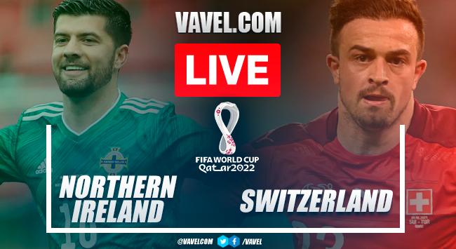 Highlights: Northern Ireland 0-0 Switzerland in 2022 World Cup Qualifiers