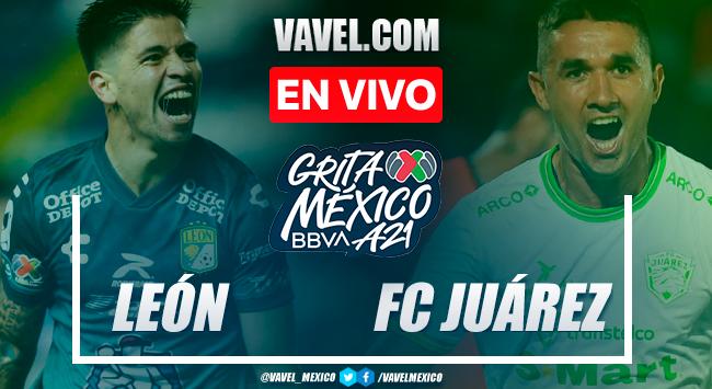 Resumen y gol: León 0-1 FC Juárez en Liga MX 2021