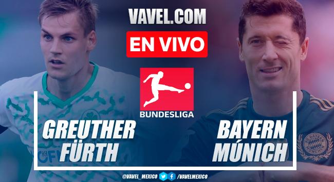 Resumen y goles: Greuther Fürth 1-3 Bayern Múnich en Bundesliga 2021