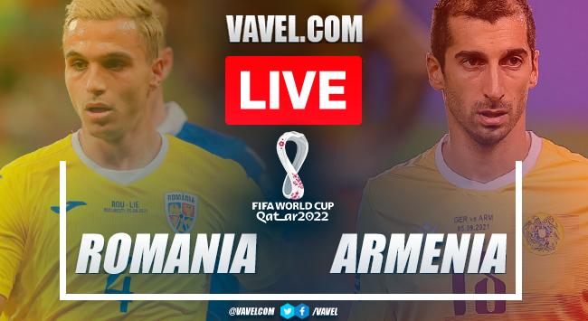 Goal and highlights: Romania 1-0 Armenia in Qatar 2022 World Cup qualifiers
