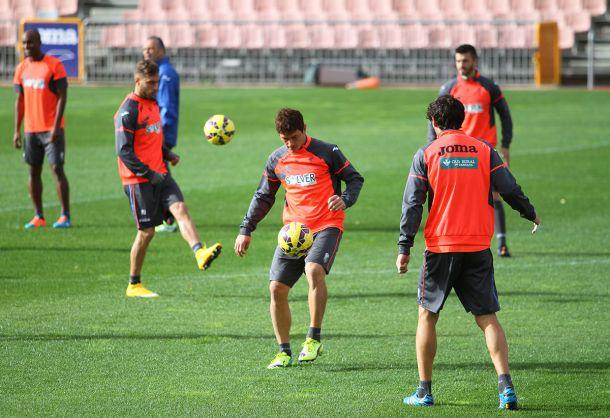 Piti, principal novedad en la convocatoria contra el Almería