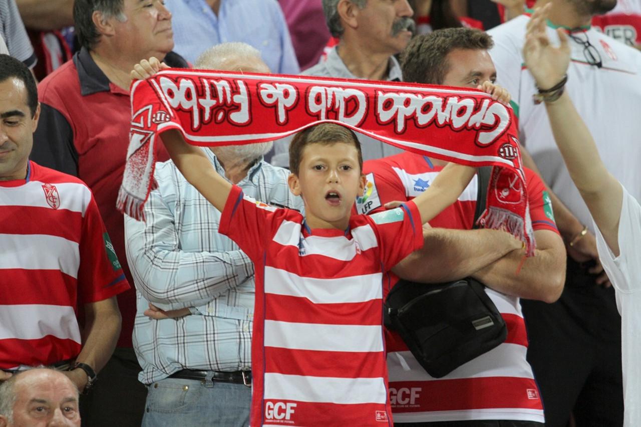Promoción para niños en las entradas para el Granada -Albacete