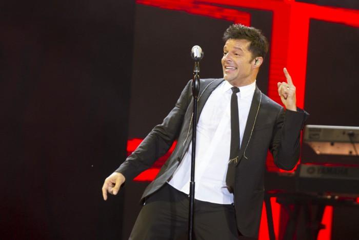 Ricky Martin irradia en Granada su magia y energía