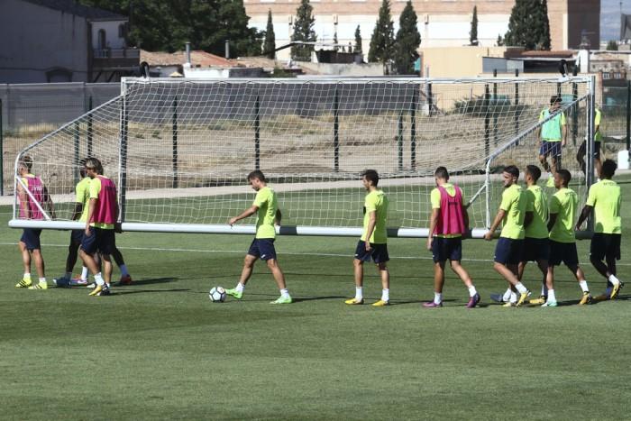 Cinco entrenamientos para preparar la visita al Real Zaragoza