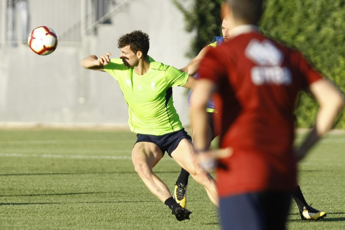 El Granada CF vuelve al trabajo tras el 'stage'